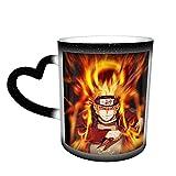 Anime Naruto Uzumaki Naruto tazza da caffè in ceramica tazze da tè cambia colore novità famiglia amanti amici ufficio e casa regalo di salute