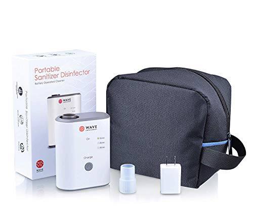 Wave Medical Premium Cleaner and Sanitizer System - Suitable for Home and Travel