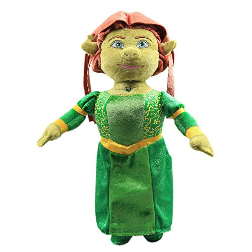 Logo 33cm Anime Shrek Series Princess Fiona Plush Toys Doll Peluche Cartoon Baby Kids Christmas Birthday Gift Home Car Decor
