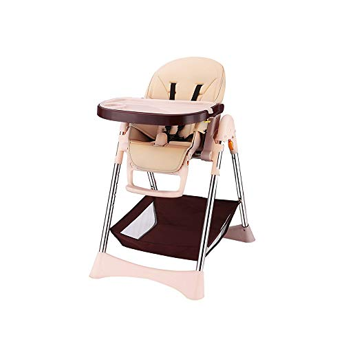 Best Bargain DUWX - Baby High Chair, Restaurant Baby Chair Outdoor Folding Portable Child Seat Home ...