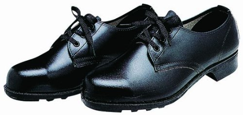 [ドンケル] 革靴 耐油耐薬品靴 短靴 ブラック 25.5 cm 3E