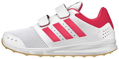 adidas Jungen LK Sport 2 CF K Fitnessschuhe, weiß (Ftwbla/Rosbah / Gum3), 28 EU