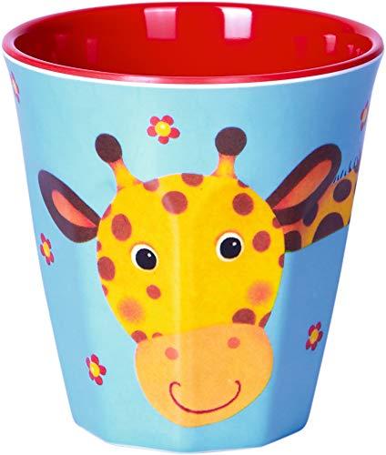 Melamin-Becher Giraffe Freche Rasselbande