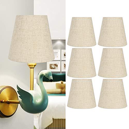 Zwinner Cubierta de lámpara, Pantalla de lámpara de Buena transmitancia de luz fácil de Instalar para Hotel para Sala de Estar