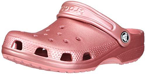 Crocs Classic Metallic Clog, Blossom, 7 US Women / 5 US Men