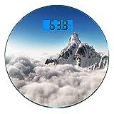 Escala digital de peso corporal de precisión Ronda Montaña Báscula de baño...