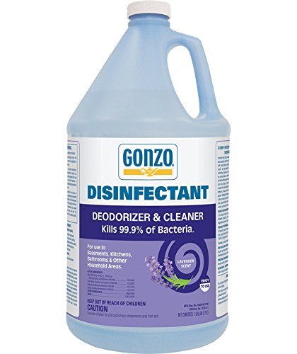Gonzo Natural Magic Odor Eliminator Disinfectant All-Purpose Cleaner - 1 Gallon - Lavender Scent - Kill Germs for Pet Area Smoke Kitchen Musty Air Vomit Paint