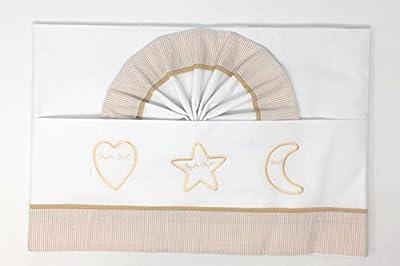 Sabanas Para Cuna Formas Durmiendo (Encimera + Bajera + Funda de almohada)