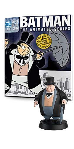 DC COMICS - Figurine du Pingouin Batman Série Animée EAGLEMOSS
