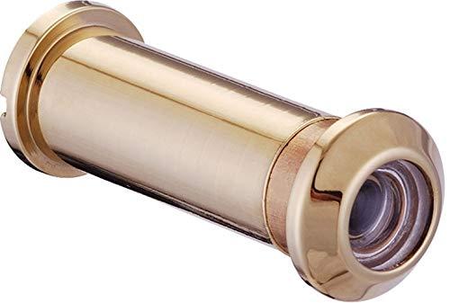 ToniTec Türspion Spion für 35-60 mm Türblätter Weitwinkel Messing PVD Gold Poliert