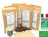 CAFE GRAIN 1kg BIO - Coffret dégustation 5 cafés pure origine BIO - Torréfaction...
