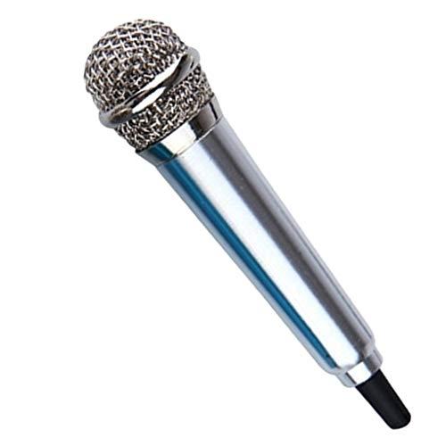mailfoulen 3,5 mm estéreo Estudio portátil Mini Mic del discurso de Audio...
