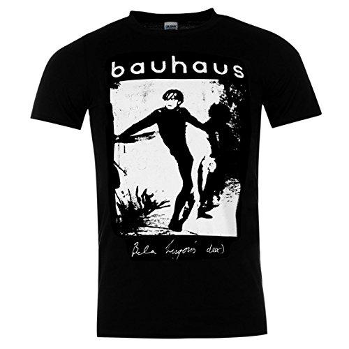 Bauhaus Bela lugoise Dead Offizielle Band T-Shirt Herren BLACK MUSIC Top Tee T Shirt L