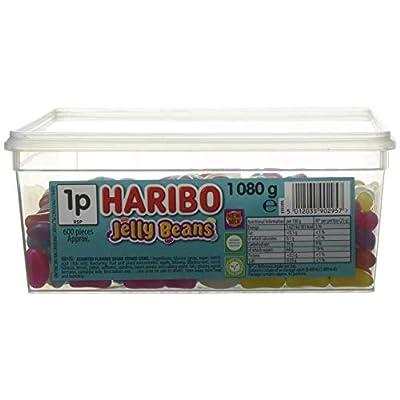 haribo jelly beans 1kg tub bulk vegetarian sweets Haribo Jelly Beans 1kg Tub Bulk Vegetarian Sweets 41Qd7jppoZL