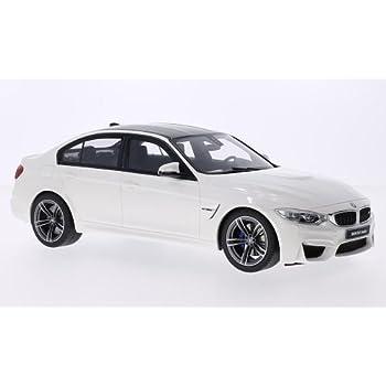 BMW 3er M3 F80 Limousine Hell Blau mit Karbon Ab 2011 1//18 GT Spirit Modell Auto