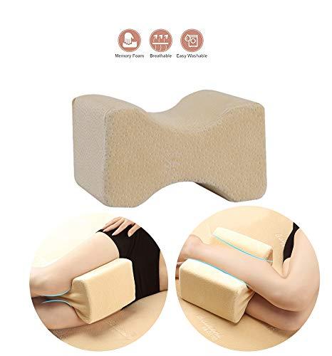 Icegrey Orthopedisch kniekussen voor zijslapers zorgt voor drukontlasting - heupen, benen, knie, rug en zwangerschap.