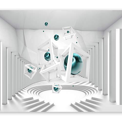 murando Papier peint intissé 300x210 cm Décoration Murale XXL Poster Tableaux Muraux Tapisserie Photo Trompe l'oeil abstraction 3D a-A-0173-a-d