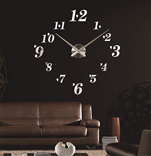 FortuneVin Wanduhr Clock Home Dekorationen hängende Uhren Europäische minimalistischen Kreative Große 80-100 Cmi.