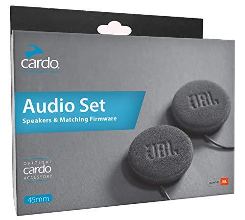 Cardo 45mm Audio Set, Works with Most Helmet Communicators (Single Pack)