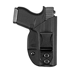 """✔️ WIDE RANGE OF ADJUSTABILITY - Adjustable Ride Height, Cant Angle, and Retention, allows you to carry comfortably and confidently ✔️ FORMED TO THE SHAPE OF YOUR GUN - Formed exactly to your gun model with .08"""" Kydex for the ultimate strength and no..."""