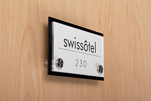 Best acrylic door signs with 3m standoffs on the market 2020