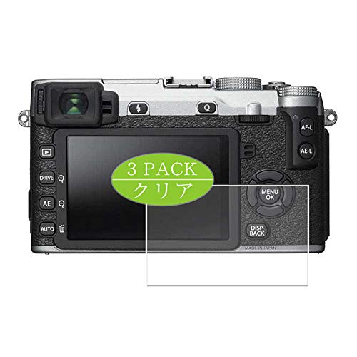 [3 Pack] Synvy Screen Protector, Compatible with Fujifilm X-E2S TPU Film Protectors [Not Tempered Glass]