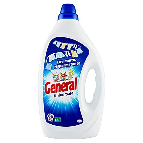 General Detersivo Liquido, 40 Lavaggi, 2000ml
