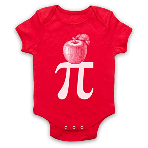 My Icon Art & Clothing Baby-Body voor Pi Pie Maths Food Parody
