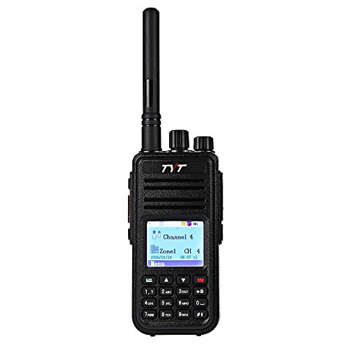 Joyhero TYT Tytera MD-380 DMR Digital Radio UHF 400 - 480MHz Upto 1000 Channels Walkie Talkies with Colorful LCD Display Two-way Radio Compatible with Mototrbo