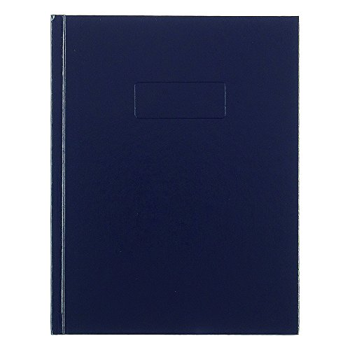 Rediform Business Notebook with Cover, College Rule, 9.25 x 7.25 Inches, Blue, 192 Page Pad (A982) (Rediform Executive Notebook)
