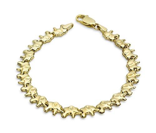 Carissima Gold - Bracelet Femme - Or Jaune 9 carats 3,3 g