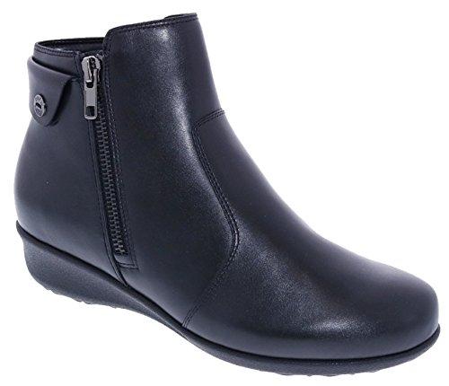 Drew Shoe Athens Women's Therapeutic Diabetic Extra Depth Boot Black - 8 Wide