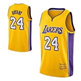 ZHS Kobe Bryant Basketball Jersey Version Retraitée - Los Angeles Lakers # 24 Basketball...
