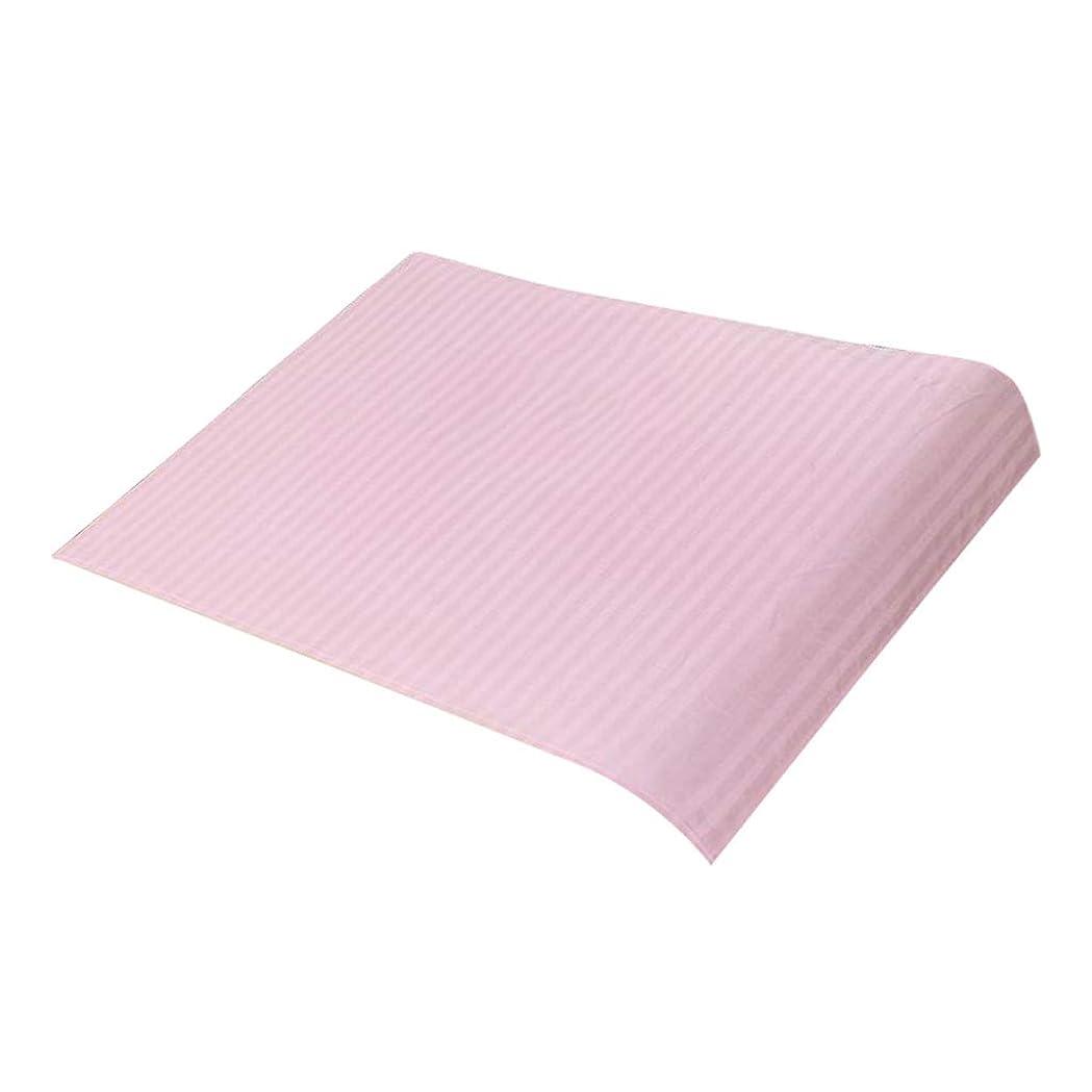 滞在奨学金ホラーSM SunniMix マッサージベッドカバー 美容ベッドカバー スパ マッサージテーブルスカート 綿素材 断面デザイン - ピンク