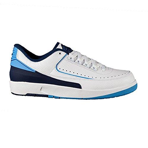 Nike - Jordan II Retro Low - 832819107 - Color: Azul-Blanco - Size: 40.0