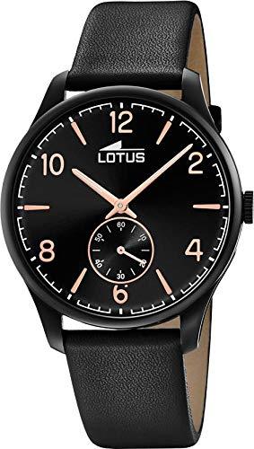 Lotus Reloj Analógico para Hombre de Cuarzo con Correa en Piel 18360/