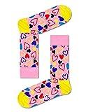 Happy Socks Unisex I Heart U Socken, Rosa, 36-40