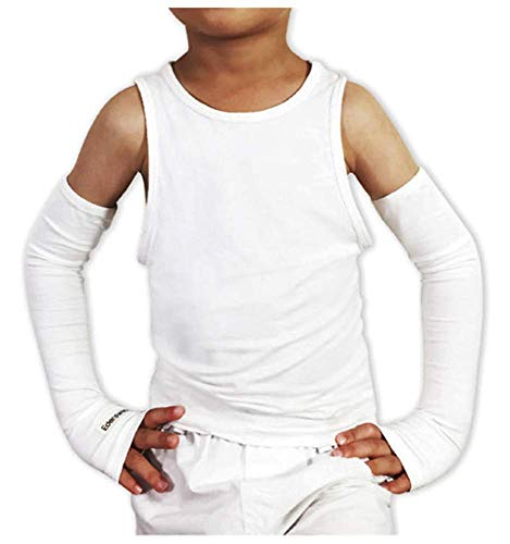 Edenswear Zinc-Infused Sleeves Bandage for Kids with Eczema - Wet Wrap Therapy (Medium)