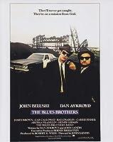 直輸入、大きな写真「ブルース・ブラザース」ダン・エイクロイド、ジョン・ベルーシ、The Blues Brothers