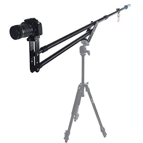 Andoer tragbar Mini Jib DSLR Videokamera DV Kranausleger Kipphebel Verlängerung bis zu 6 kg mit Tasche