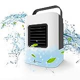 Aire acondicionado portátil, refrigerador portátil, forma fácil y rápida de refrescar el espacio personal, tal como se ve en la televisión, adecuado para la habitación, la oficina y la sala de estudio