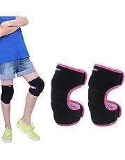 EULANT Niños Rodilleras para Baile, Esponja Espeso para Proteger la Rodilla para Voleibol Escalada Baloncesto Danza Correr Senderismo Esquiar,Evitar Heridas y Rozaduras en Las Rodillas