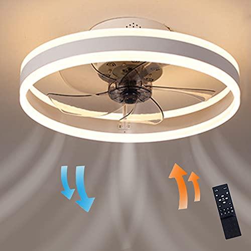 EIDISUNY Ventiladores para el techo con lámpara