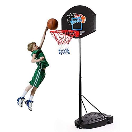 XIUYU Basketball-Band-Satz, tragbare verstellbare Höhe Basketball-Standplatz PVC-Rückenbrett Geeignet for Kinder Jugendliche Innen- und Außen