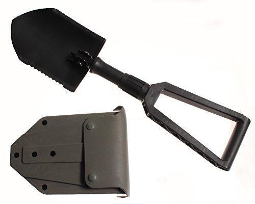 GERBER E-Tool, Entrenching Tool, Folding, with Plastic Foliage Green Sheath Model 1602