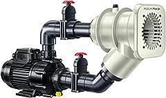 Tegenstroominstallatie Aqua Flow Jet met luchtparelbad*