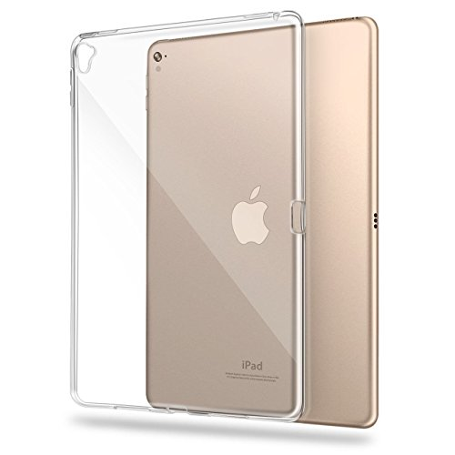 Asgens iPad Pro 9.7 inch(2016) Case,Transparent Slim Silicon Soft TPU Tablet Computer Case (Clear)