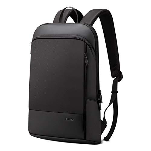 fanbaobao Sac extérieur Bopai Slim Laptop Backpack Men 15.6 Pouces Bureau Travail Homme Sac à Dos Business Bag Unisexe Noir Sac À Dos Ultra-Léger Mince Sac À Dos Sac De Voyage Sac De Voyage