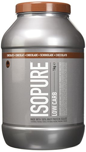 Isopure Zero Carb Whey Protein Isolate with BCAA's, Low Lactose Protein Protien Powder by Isopure - Chocolate, 32 Servings, 1 kg