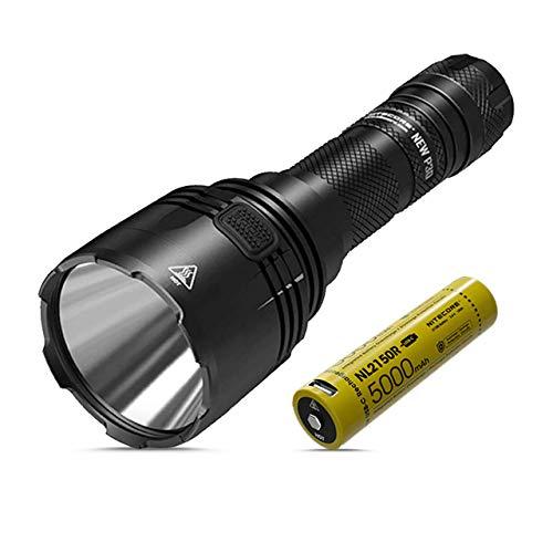 Nitecore P30 New - Torcia LED Ricaricabile Professionale - v.2020-1000 Lumen 618M - Torcia Potentissima per Lunga Distanza - Impermeabile IP68